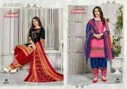 Cotton Akash Padmavati Dress Material