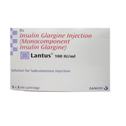 Lantus 100 IU/ml Injection