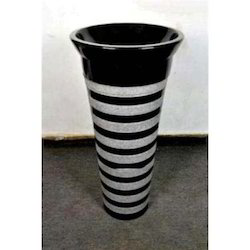 Black And Light Grey Black Marble Bathroom Pedestal