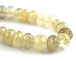 Golden Rutile Gemstone Beads