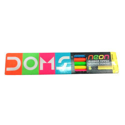 DOMS Rubber Tipped Graphite Pencil