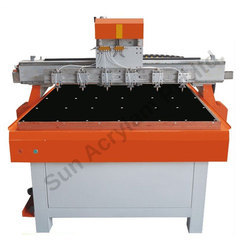 Designer Dress Glass Mirror Cutting Machine