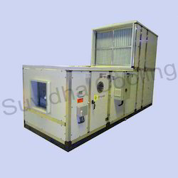 Stainless Steel Floor Mounted Double Skin Air Handling Unit, For Industrial