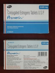 Premarin 0.625 mg (Conjugated Estrogens Tablets)