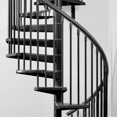 Great Metal Spiral Stairs