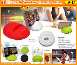 Bluetooth Speaker with Mobile Holder A-14