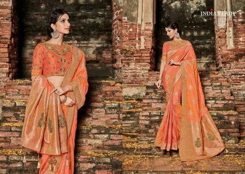 Party Wear Banarasi Silk Saree