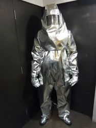 Aluminized Fire Proximity Suit 2 Layers