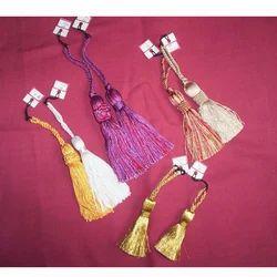 Sofa Silk Key Tassels