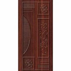 Hinged Laminated Decorative Membrane Door, Width: 2 To 4 Feet, Height: 7 To 8 Feet
