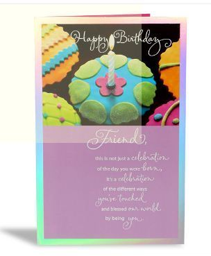 Happy birthday friend greeting card archies limited mumbai id happy birthday friend greeting card m4hsunfo