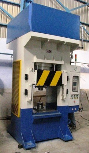 Automatic Santec H TYPE Or Fabricated 4 Colum Type Presses
