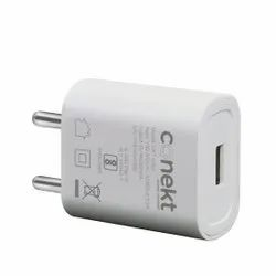 White Conekt Dash Solo Mobile Charger with Micro USB Cable