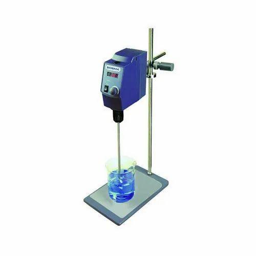 Mild Steel Digital Overhead Stirrer, Capacity: 20-40 Ltr