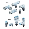 SMC Clean One-Touch Fittings For Driving Air Piping KPQ/KPG