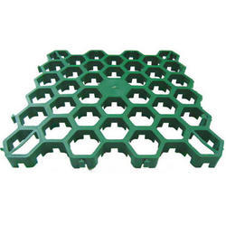 Green Plastic Grass Paver, Usage: Landscaping, Pavement