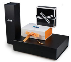 Paper Black Decorative Packaging Box