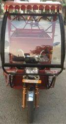 Heavy Duty Battery Operated E Rickshaw