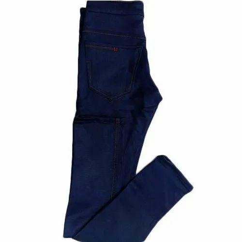 RBC Comfort Fit Mens Blue Denim Jeans, Waist Size: 28 - 40
