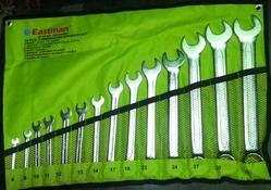 Combination (cold Stamped) 14 Pcs Spanner Set - E-2406