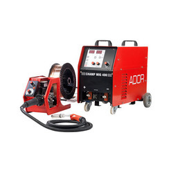Red Ador MIG Welding Machine - Model Maximig 400