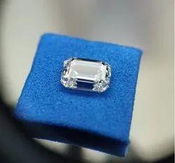 Emerald Cut Lab Grown Diamonds 0.50ct Each Pair DEF VVS VS