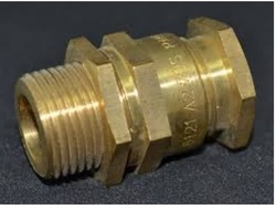 Cable Gland Brass Brass Male Bush Exporter From Jamnagar