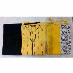 Ethnic Wear Casual Wear Ikkat Readymade Dress