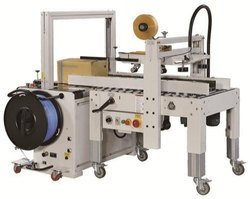 Carton Sealing And Strapping Machine
