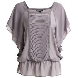 Girls Grey Top, Size: S to XL