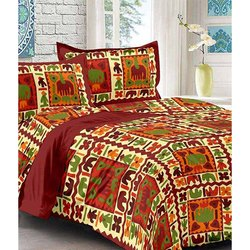 Traditional Double Bedsheets