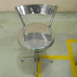 Stainless Steel Chair With Back Rest