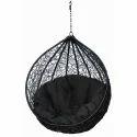 Carry Bird Black Hanging Swing