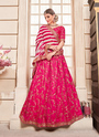 Fancy Silk Party Wear Designer Lehenga Cholis