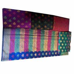 Cotton Silk Weawing Sarees, Length: 6 m