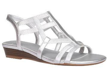 a24e9e7b11d8 Casual BATA Naturalizer Silver Sandals For Women F561816000