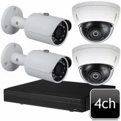 4 Channel CCTV Surveillance System