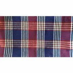 Checks Cotton Check Mattress Cover Fabric