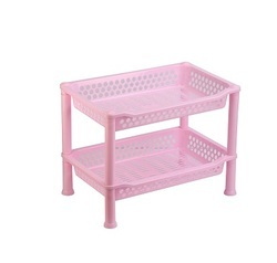 Plastic Multilayer Rack Big 2 Tier