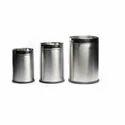 Plain Stainless Steel Dustbin