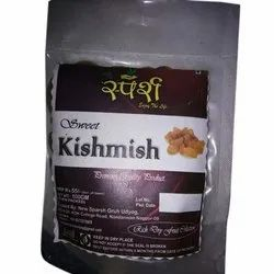 12 Months Sparsh Green Raisin, Packaging Size: 250 Gm, Packaging Type: Vacuum Bag
