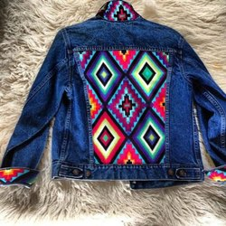 Blue Unisex Denim Jacket