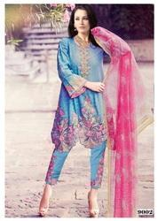 Pakistani Embroidery Salwar Suit