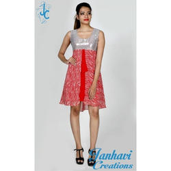 Printed Fancy Sleeveless Casual Short Dress