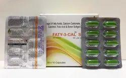Omega-3- Fatty Acids, Calcium Carbonate Calcitriol, Folic Acid and Boron Softgel Capsules