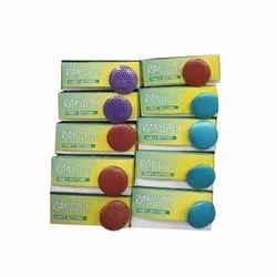 Rangoli Plastic Round Coat Button, Packaging Type: Box