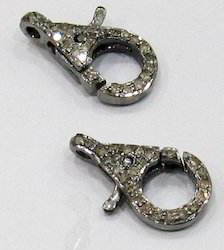 High Quality Diamond Lobster Clasp