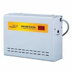 V Guard Single Phase V-Guard VGB 500 Digital Voltage Stabilizer, Current Capacity: 15 A, Warranty: 3 Years