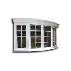 UPVC Bow Window