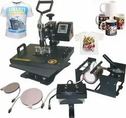 Digital T-Shirt / Tea Mug Printing Machine, Capacity: Good, Automation Grade: Semi-Automatic